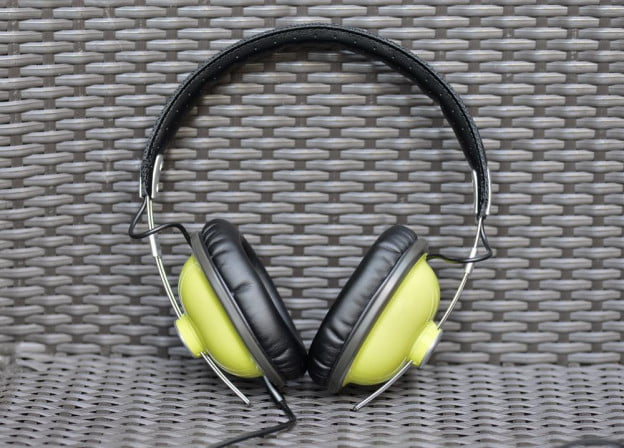 panasonic rp htx7 front over the ear headphones