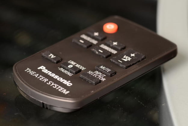 Panasonic SC HTB350 Review Home Theater System remote 2.1 surround sound system