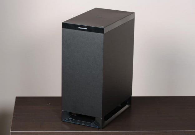 Panasonic SC HTB350 Review Home Theater System Subwoofer home audio 2.1