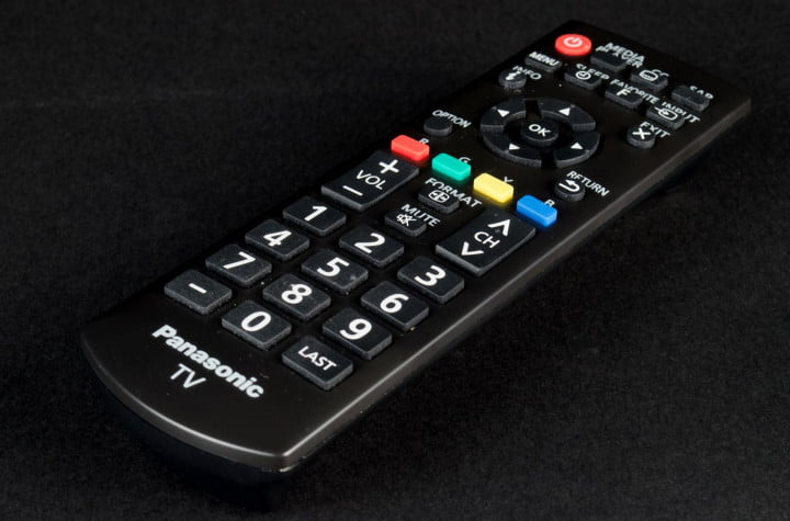 panasonic viera tc l  em review remote control