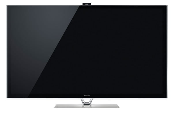 panasonic viera tc p  vt review s (front view)