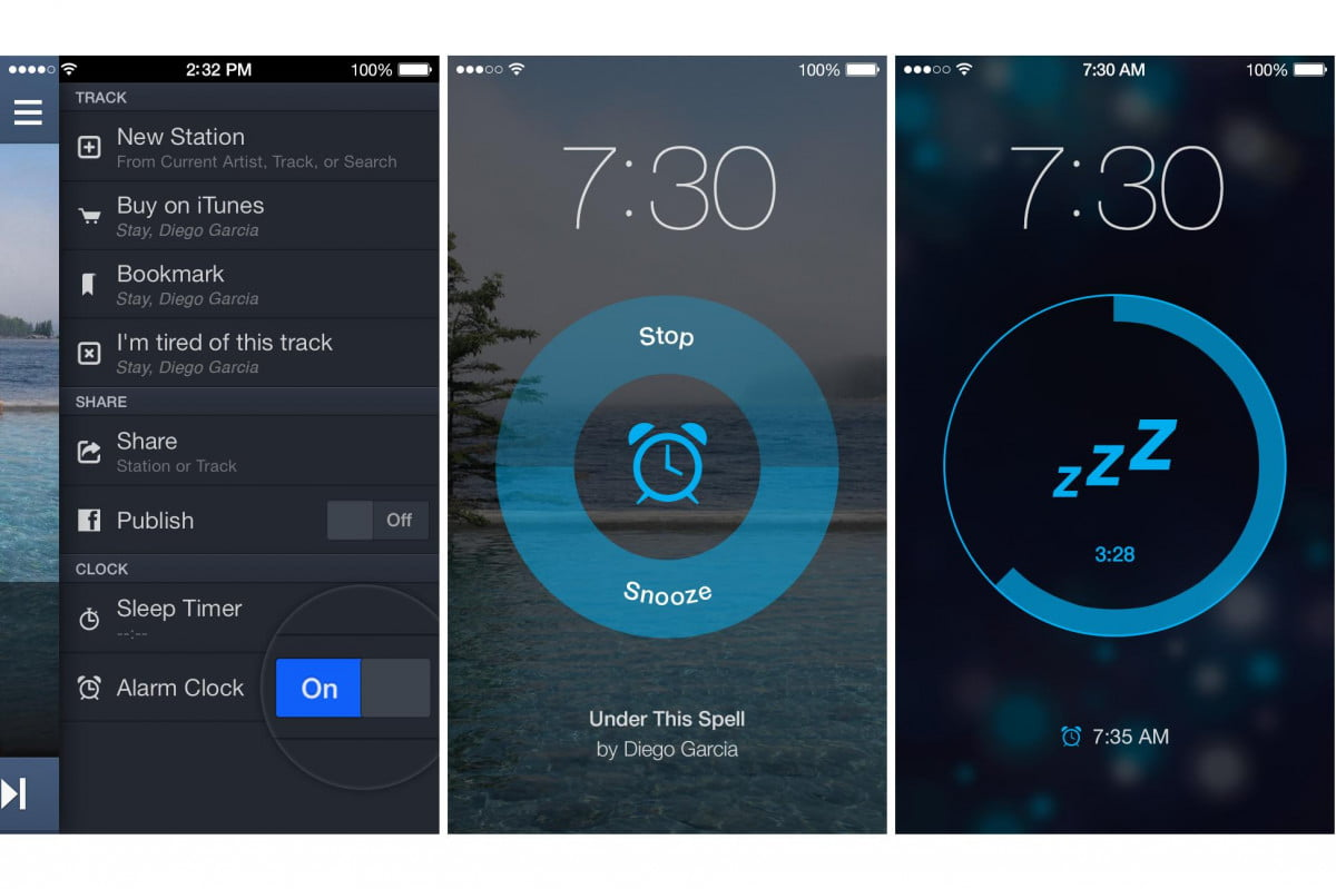 pandora wants wake music using new alarm feature