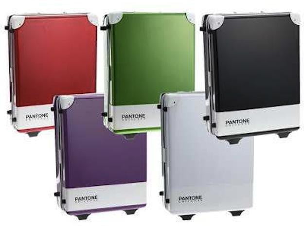 pantone carry case luggage bags make for a colorful trip