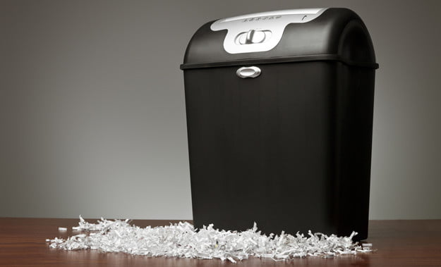 paper shredder paper usage in office