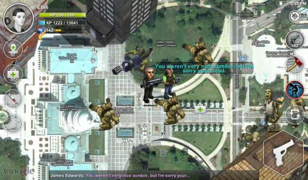 parallel zombies screenshot city android game app