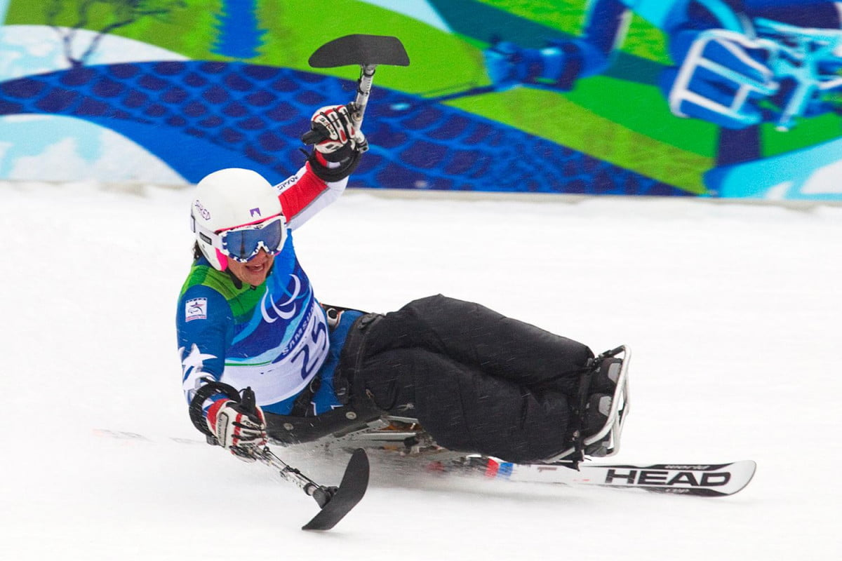 for paralympic skiier alana nichols carbon and kevlar may lead to sochi gold medalist