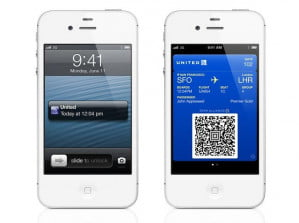 Apple iOS 6 Passbook Time and Location