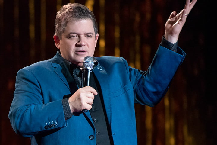 patton oswalt standing for clapping