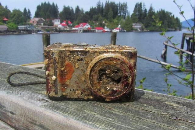 panasonic camera lost in shipwreck recovered with working memory card paul burgoyne ocean