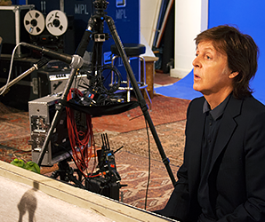 Pure McCartney VR is like standing in a musical pop-up book of Paul's brain