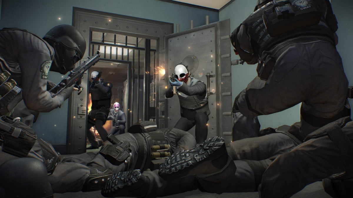 ian howe  games interview payday bank heist