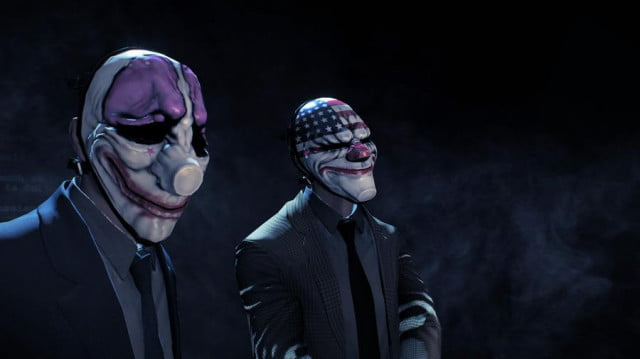 the art of heist kicking off your criminal career in payday  screenshot old masks