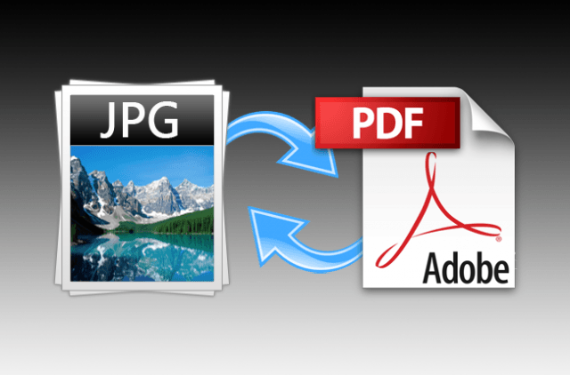 how to convert a pdf jpg and vice versa converstion header