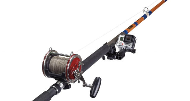 mount gopro stick fishing rod long round object sportsman pdp image x sportsmanmount