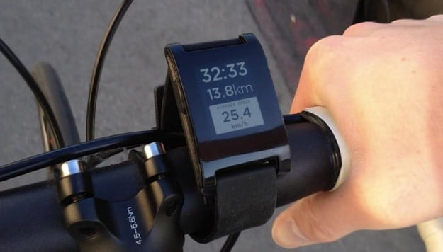 pebble-smartwatch-bike