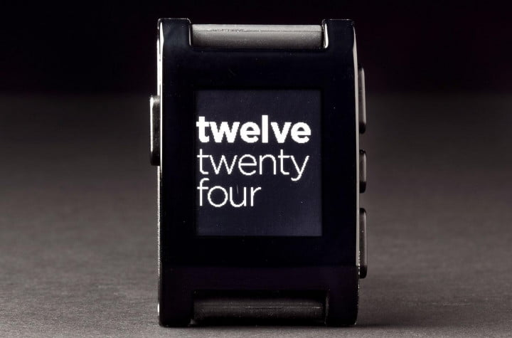 pebble review smartwatch clock text