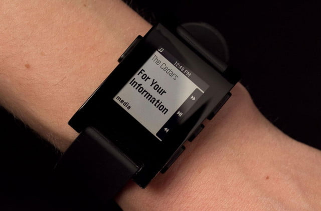Pebble Smartwatch media