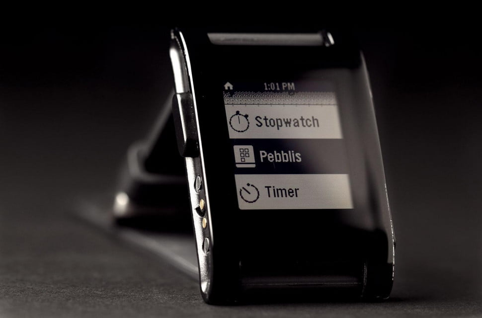 Pebble Smartwatch Pebblis
