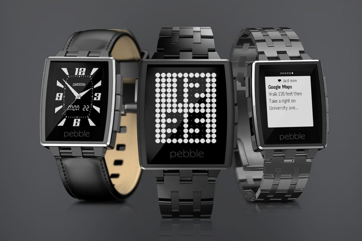 pandora launches pebble support steel smartwatch