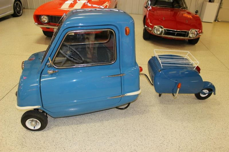 Auto For Sale Ebay: 'World's Smallest Production Car,' The Peel P50, For Sale