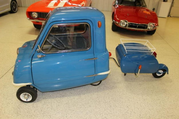 world s smallest production car the peel p50 for sale. Black Bedroom Furniture Sets. Home Design Ideas