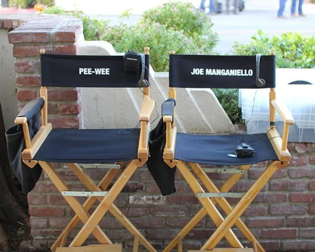 pee wee herman joe manganiello wees big holiday peewee chairs
