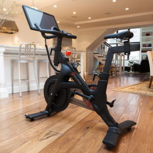 Peloton Bike on hardwood