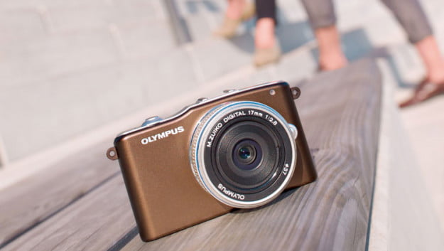 Olympus PEN Mini E-PM1 brown