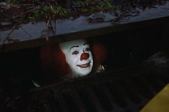 stephen king it movie photo pennywise