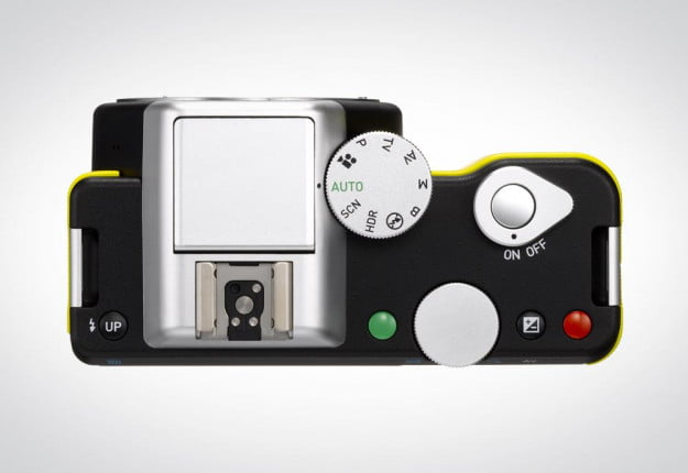 Pentax K 01 review top mirrorless camera dials buttons