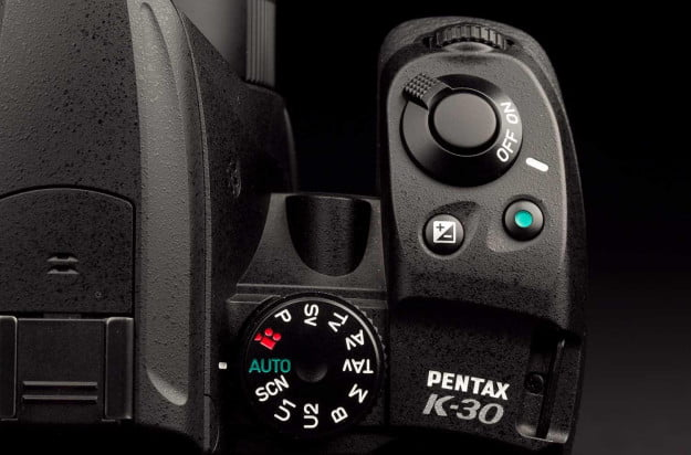pentax k30 weather sealed digital dslr camera top macro