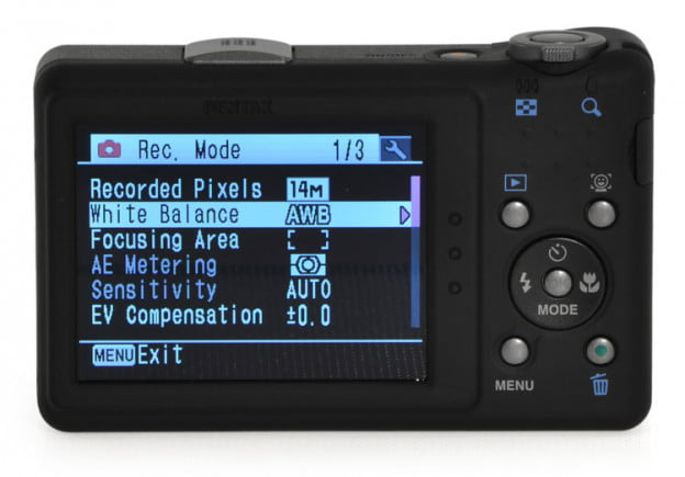 pentax-optio-rz10-black-back-display-controls