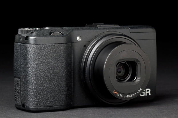 Pentax Ricoh GR front right