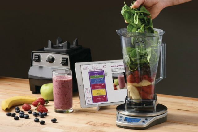 the perfect blend is a scale for making smoothies