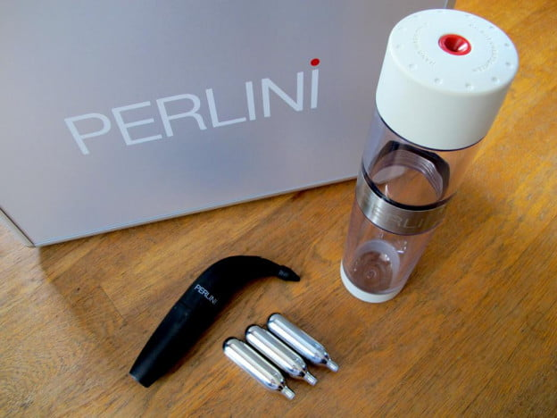 Perlini Cocktail Carbonator review set angle alcohol drink maker