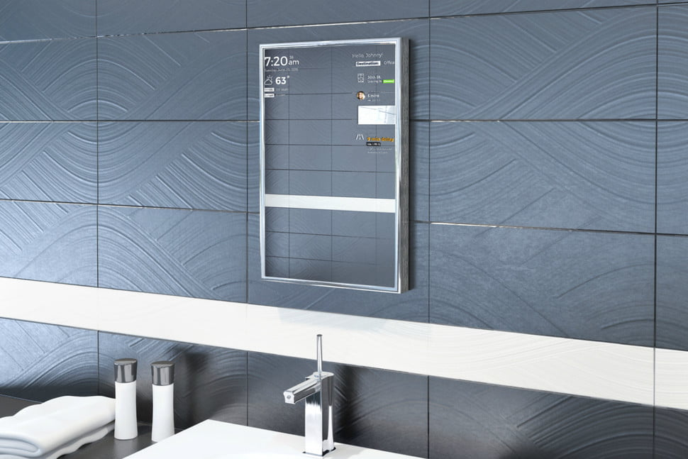 perseus smart mirror bathroomwide. Perseus Is a Smart Mirror that Uses Voice Commands   Digital Trends