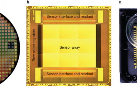 Personal Genome Machine chip array