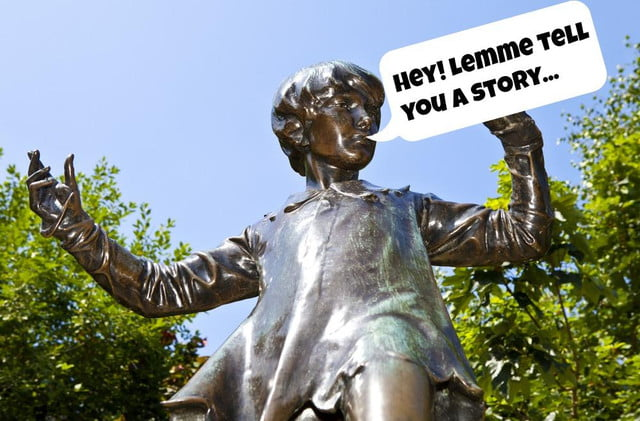 londons historic statues will start calling smartphones from this week peter pan talking statue