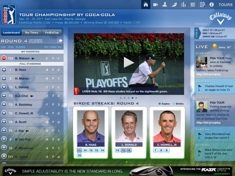 PGa golf screenshot