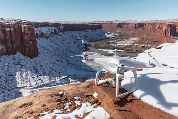 DJI's Phantom 4 drone avoids obstacles, tracks humans