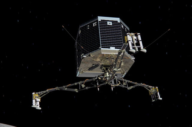 philae rosetta mission in jeopardy after rough landing