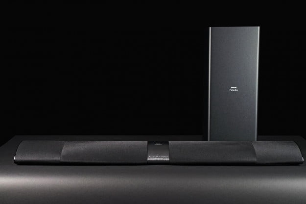 Philips Fidelio soundbar HTL7180 subwoofer and tower