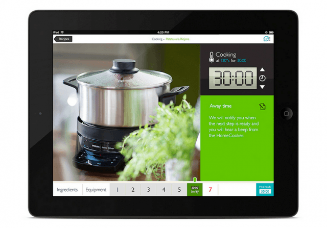 cause a stir with app connected cooking assistant philips homecooker next
