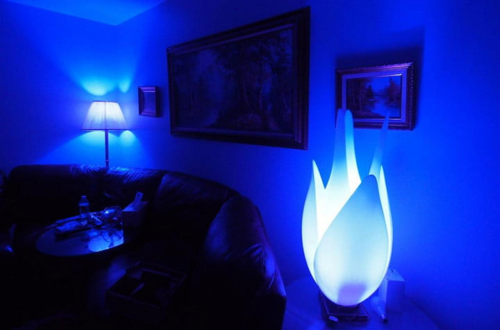 philips hue review blue