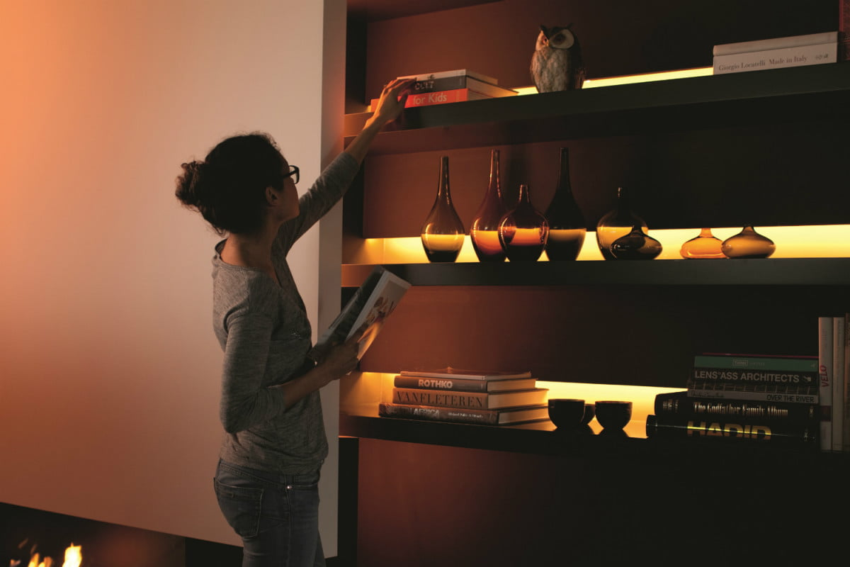 philips introduces new lightstrip plus at ifa  hue shelf