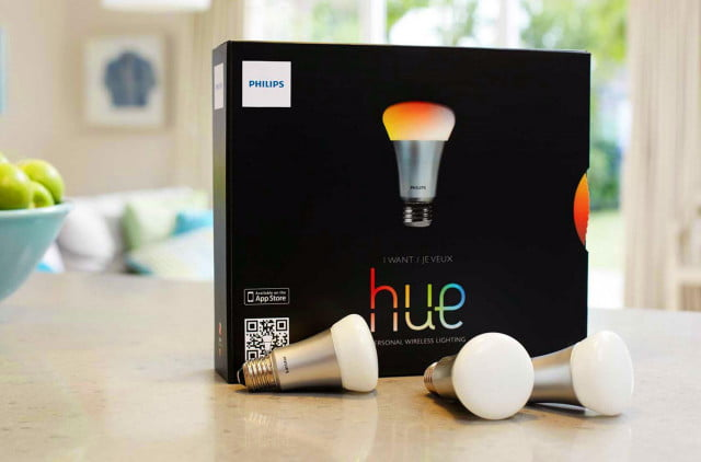 philips hue notification center widget ios  out of the box
