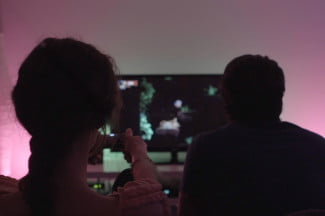 Philips Hue Syncs with Chariot Video Game