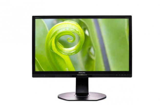 Philips 24-inch display  with SoftBlue technology
