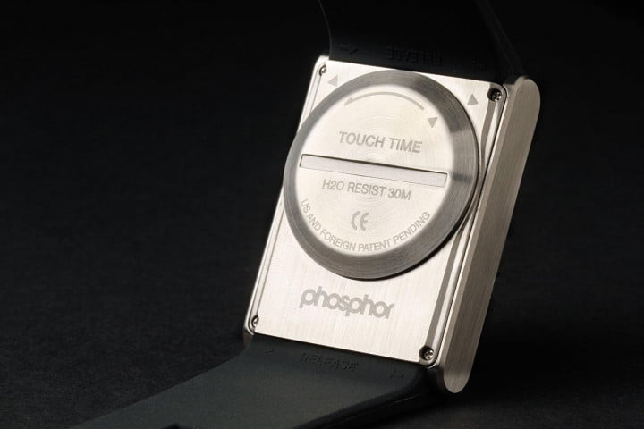 phosphor touch time review watch back