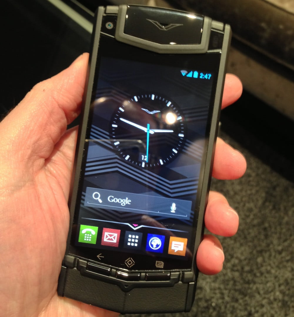 Vertu Ti Hands On The First Vertu Smartphone You Ll Want